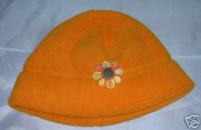 *NEW* TURTLE FUR Girls Fleece Hat Cap Beanie Orange