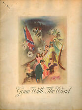 GONE WITH THE WIND MOVIE THEATER SOUVENIR PROGRAM