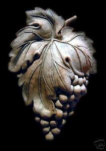 Grapes Cluster stone wall backsplash tile home kitchen garden decor fruit veggie