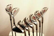 All FULL GRAPHITE Hybrid Irons Complete Rescue Hybrids Golf Clubs Iron Set Club