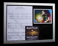 BASTILLE Laura Palmer LTD CD GALLERY QUALITY FRAMED DISPLAY+EXPRESS GLOBAL SHIP!