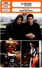 FICHE CINEMA : LA RECRUE - Pacino,Farrell,Moynahan,Donaldson 2003 The Recruit