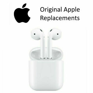 Genuine Apple AirPods Left Right Charging Case All Models CLEAN and AUTHENTIC