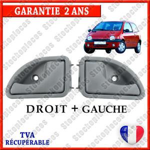 2 POIGNÉE DE PORTE INTERIEURE AVANT GAUCHE + DROITE compatible TWINGO 1