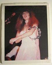 Stevie Nicks 70's image photograph tambourine Photo 11x14 inch Fleetwood Mac