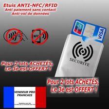 etui pour protéger carte bancaire  sans contact protection c.b.x