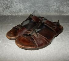 Woman's Merrell Micca Mahogany Sling Back Strappy Sandals size 6