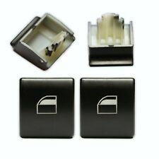 2X BMW E46 E90 X5 ELECTRIC WINDOW CONTROL POWER SWITCH PUSH BUTTON KNOB
