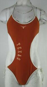 University of Texas Longhorns Women's G-III Brown One Piece Swim Suit