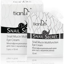 Tiande Baba de Caracol Multifunción Anti Edad Lifting Crema de Ojos 5*10ml