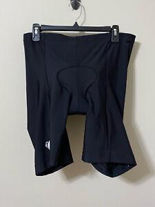 Pearl Izumi Padded Cycling Bike Shorts Black Reflective Size XL