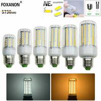 LAMPADINA LAMPADA 5730 SMD LED 7W 9W 12W 15W 20W 25W E14 E27 LUCE CALDA FREDDA