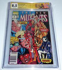 New Mutants #98 CGC SS Signature Autograph Sketch NICIEZA Co-Creator STAN LEE AU