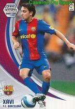 066 XAVI ESPANA FC.BARCELONA TARJETA CARD MEGA CRACKS LIGA 2008 PANINI