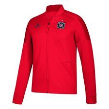 Chicago Fire MLS Adidas Men's Team Red Full Zip Z.N.E. Anthem Jacket