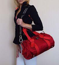 NWOT Lululemon DTB Mini Duffel Bag Currant Red