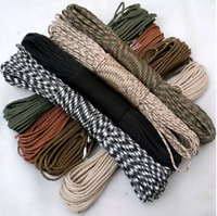5 m 4 mm 7 cores survival stand parachute cord camping camping climbing rope