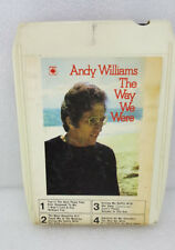 ANDY WILLIAMS--THE WAY WE WERE--CBS-8 TRACK STEREO CARTRIDGE VINTAGE RARE 1974