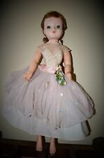 """Vintage Madame Alexander Cissy Doll with MAID OF HONOR Gown  Doll 20"""""""