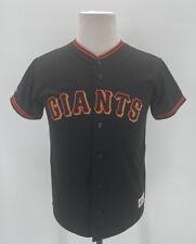 Majestic Barry Zito Black San Francisco Giants Baseball Jersey YOUTH Size Large
