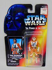"New Hasbro Star Wars POTF 3.75"" X-Wing Luke Action Figure Sealed Long Lightsaber"