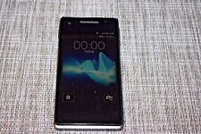 DOCOMO SONY SO-01E XPERIA AX ANDROID WATERPROOF SMARTPHONE UNLOCKED BLACK #14168