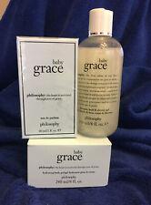 BABY GRACE Parfum 2 oz, Shower Gel 8 oz & Hydrating Body Gel 8 oz