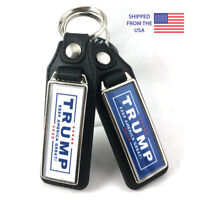 Trump KAG Keep America Great 2020 Key Fob Key Ring Keychain (2-Pack)
