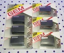 Gem Personna Single Edge Stainless Steel Blades Used Blade Vault 35-Count Sealed