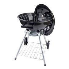 Barbeque in acciaio con coperchio BBQ barbecue a carbonella con ruote pic nic