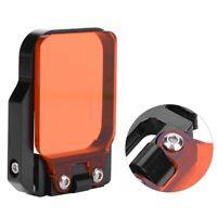 Wasserdicht Gehäuse Filter Für GOPRO HERO3 / SJ4000 Action Sport Kamera Rot