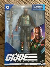 GI Joe Classifieds ROADBLOCK 6? Figure Brand New Factory Sealed
