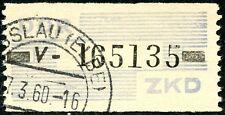 538)DDR ZKD 26 V (Halle) O, einwandfreie, sauber gestempelte Marke!!