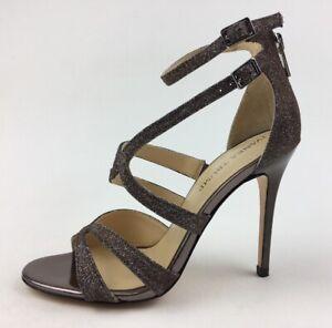 Ivanka Trump Hotis2 Women's Strappy Dress Sandal Size 6M, Bronze Fabric 2267