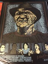 London 1888 Nightmare On Elm Street 3 Dream Warriors Print Not Mondo 176/200