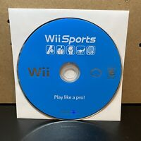 Wii Sports (Nintendo Wii, 2006) Authentic Game Disc Only- Tested!