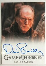 David Bradley Autograph as Walder Frey from Game of Thrones Season 4