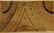 """Amedee JOYAU """"Plafond du palais de Canossa à Vérone"""" Aquarelle originale."""