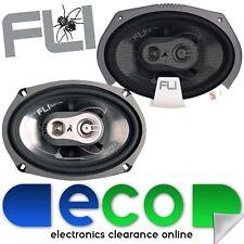 Fli FI9 6x9 inch 750 Watts a Pair 3 Way Car Parcel Shelf Speakers