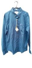 Hollister Stretch Oxford Shirt Green Size Medium rrp £29 DH008 BB 08
