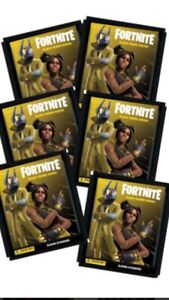 NEW : LOT 30 Stickers FORTNITE BLACK FRAME SERIES PANINI Images - NEUF