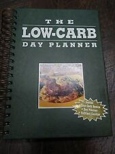 New LOW CARB DAY PLANNER* Hard Cover Book By Elizabeth M.Ward 160 Pages
