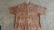 Mens Tommy Bahama 2XL Button Front Short Sleeve Shirt.