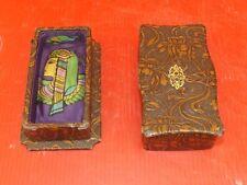 Rare Boite de Flacon de Parfum Art Nouveau, Intérieur en Soie. Cléopatre