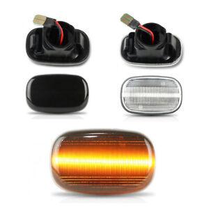 Piar LED Side Light Marker Indicator For Toyota Hilux Mk4/Mk5 1997 - 2005 Surf