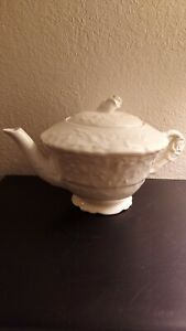 Vintage Rare Pope Gosser China Teapot & Lid Excellent Condition rose point
