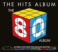 The Hits Album - The 80s Album - Various (NEW 4CD)