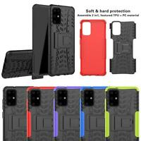 For Samsung Galaxy S20,S20 Plus Ultra Shockproof TOUGH Phone Case + Screen Guard