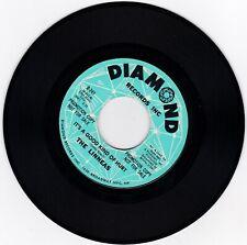 NORTHERN SOUL 45RPM - THE LINNEAS ON DIAMOND - RARE PROMO! - SOUND CLIP