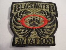 BLACKWATER AVIATION Patch Hook/Loop Operation Operation Enduring Freedom